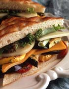 California Cheese & Vegetable Sandwich