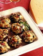 California Gouda-Stuffed Mushrooms