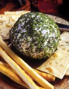 California Swiss and Cream Cheese Ball