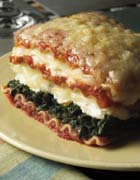 Easy Three-Cheese Lasagna