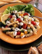 Mediterranean Pasta Salad With California Ricotta and Feta