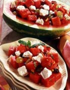 Watermelon and California Feta Salad