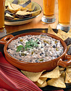 California Cheesy Black Bean Dip