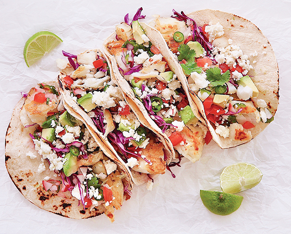 Image of the California Queso Fresco Fish Tacos